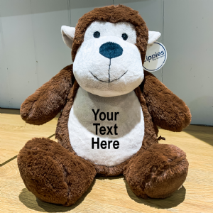 Personalised Monkey Teddy Bear